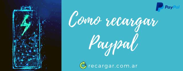 Como recargar Paypal