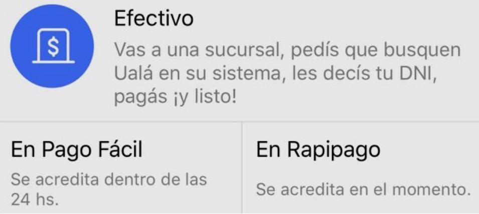 Rapipago-pagofacil uala