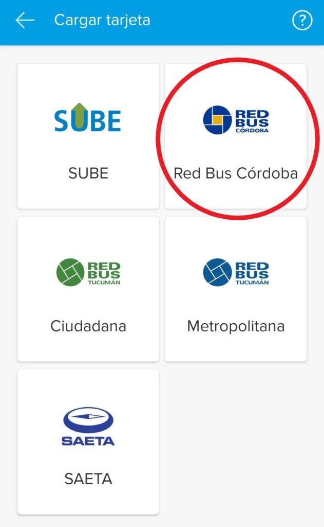 red bus mercado pago