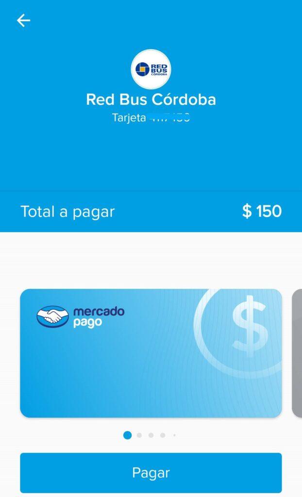 confirmar pago redbus