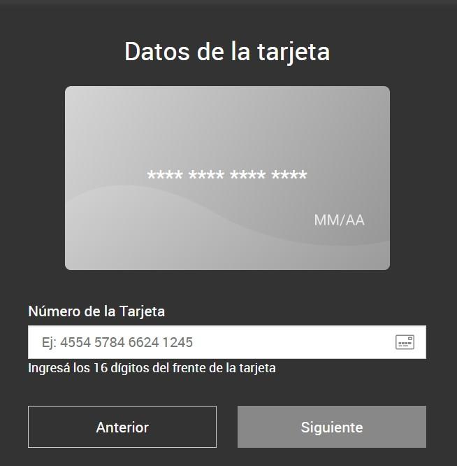 recarga tarjeta personal